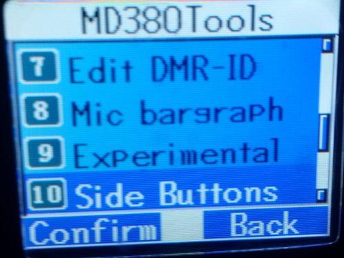 MD380TOOLS nuova funzione