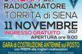 5° Mostra Scambio del Radioamatore a Torrita di Siena-11 Novembre 2017